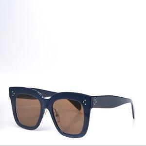 Blue Celine sunglasses